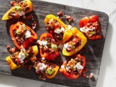 Bell Pepper Keto Nachos
