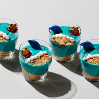 Shark Sighting Pudding Cups