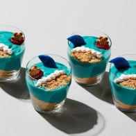 Shark Sighting Pudding Cups