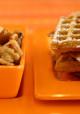 Encore: Pumpkin Waffles with Maple Walnut Apples