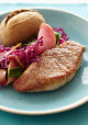 Encore: Pork Tenderloin Steaks with Wilted Cabbage and Apples