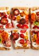 Puff Pastry Heirloom Tomato Tart