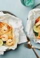 Lemongrass Coconut Shrimp and Noodles Parchment Packs