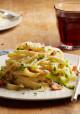 Asparagus Fettuccine Carbonara
