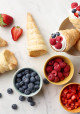 Encore: Puff Pastry Cones with Berries and Cream