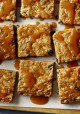 Loaded Blondies with Butterscotch Drizzle