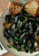 Encore: Simple Steamed Mussels