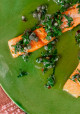 Encore: Slow-Cooked Salmon with Salsa Verde