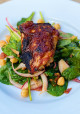 Encore: Sweet and Spicy Honey-Glazed Grilled Chicken with Spinach Salad and Pantry Dressing