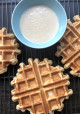 Encore: Carrot Cake Waffles with Maple Cream Cheese Drizzle