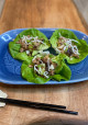 Encore: Ground Pork, Water Chestnuts and Crispy Noodle Lettuce Cups