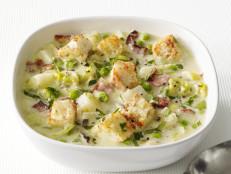 Potato-Leek Soup With Bacon