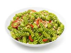 Fusilli With Spinach-Nut Pesto