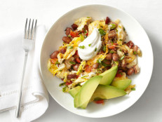 Mexican Eggs with Chorizo and Beans