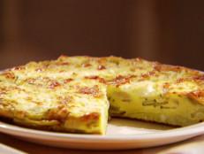 Zucchini and Goat Cheese Frittata