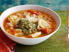 Sausage, White Bean and Tortellini Soup