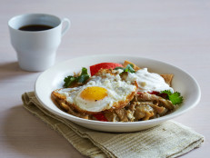 Chicken Chilaquiles with Tomatillo Sauce