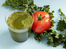Savory Kale Tomato Juice