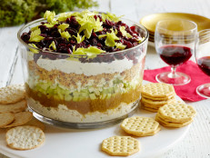 Seven-Layer Cranberry Cobb Dip