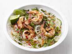 Rice Noodle Salad with Shrimp
