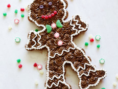 Pull-Apart Gingerbread Man