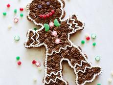 Pull-Apart Gingerbread Man