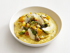 Pumpkin Polenta with Vegetables