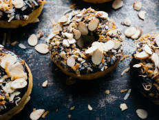 Coconut Almond Baked Doughnuts