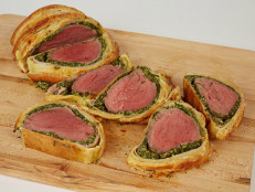 Spinach Artichoke Beef Wellington