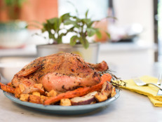 Herb-Roasted Chicken with Root Vegetables