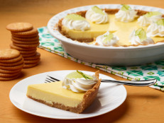 Key Lime Pie with Butter Cracker Crust
