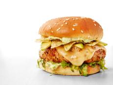 Tex-Mex Turkey Burgers with Avocado Mayonnaise