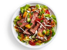 Steak Salad with Tomato Vinaigrette