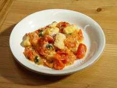 Potato Gnocchi with Easy Tomato Sauce