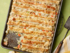 All-Crust Sheet Pan Chicken Pot Pie