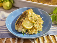 Greek Lemon Chicken and Orzo Casserole