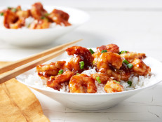 Sweet and Sour Glazed Shrimp