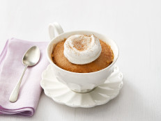 Earl Grey Mug Cakes