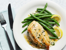 Chicken Breasts with Tarragon-Shallot Butter