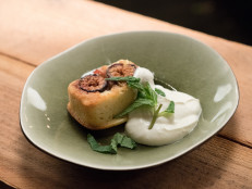 Fig Cakes with Sweet Ricotta