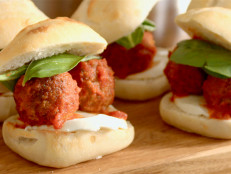 """Meatless """"Meatball"""" Sliders with a Twist"""