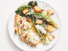 Sheet-Pan Chicken Caesar Salad