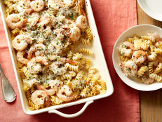 Alfredo Shrimp Scampi Dump Dinner