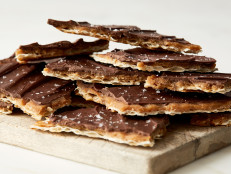 Chocolate Toffee Matzo Candy