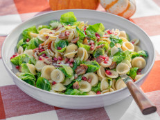 Bacon and Brussels Sprout Orecchiette