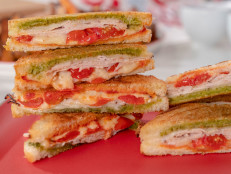 Turkey Parmesan Panini