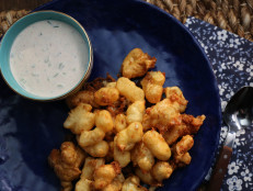 Beer-Battered Cheese Curds with Homemade Ranch