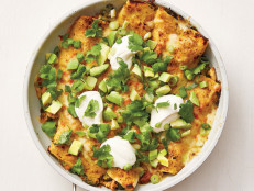 Skillet Chicken Enchiladas