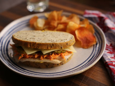 Make-Ahead Turkey and Swiss Sandwiches with Carrot Slaw
