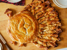 Apple Pie Puff Pastry Turkey